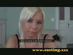 Casting - anal for unique looking student
