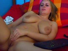Dolores Naked - Big natural boobs