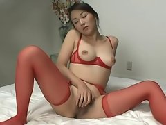 Japanese lesbians in action