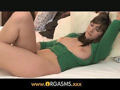 Orgasms - Beauty with incredible natual breasts