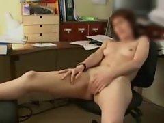 Masturbation au bureau