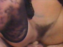 Gothic chick fucks in 1989 Both Ends on Fire