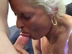 Granny Sucks Fucks And Swallows !