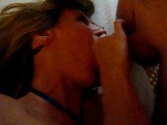 Sexy MILF Jade Fucks Her Friend in a Hotel Room