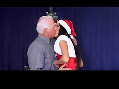 Christmas - grandpa and grand daughter PART1