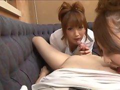 Yuki Mizuho and Karin Asamiya 1 blowjob -=fd1965=-