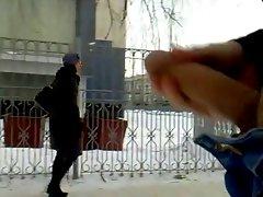 rus Public Masturb PARK CUM Auto GIRLS 49 - NV