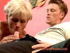 grandma Ella fucking youger fuck buddy