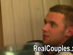 Megan dances and teases her boyfriend