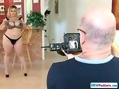 Very Large BBW Slutty Blonde
