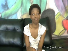Black teen in rough interracial blowjob and it is shocking how she is treated