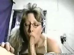 Wife Deep Throating Cock