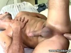 Straight guy enjoying his gay experience