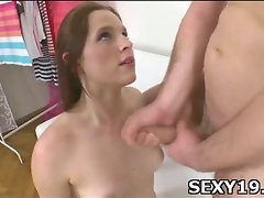 Sex-starved pretty girl