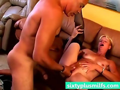 Blonde mature housewife rough fucked
