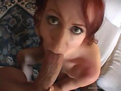 Bailey Odare gets her mouth crammed with hard cock