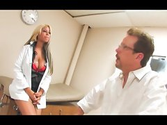 Bridgette B gives some patient prick therapy