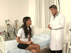 Melanie Memphis shows her doctor she's pussy perfect