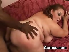 Fat White BBW Taking BBC