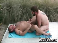 Hardcore gay bears ramming and drilling