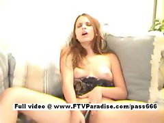 Joey amazing naked blonde girl on the couch