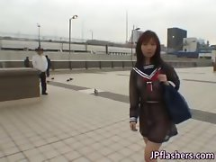Free jav of Mikan Cute Asian student