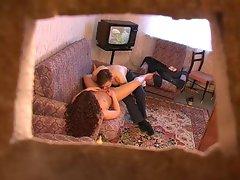Follada en el sofa
