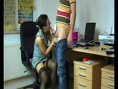 German-Hot Office Sex