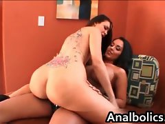 Lezzy nymphos Nina Mercedez and Sophia