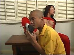 Man blows Asian she-male