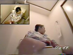 Jap toilet masturbating hidden cam compilation