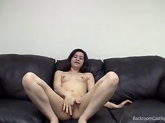 Cutie Casting - Backroom Anal Creampie Teen