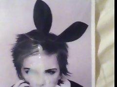 Emma Watson Bunny Ears Facial