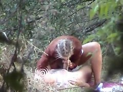 some couples have sex outdoor