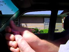 Jerking in the car.