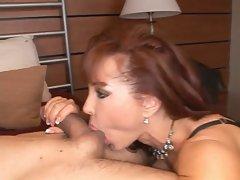 Crazy Hot Redhead Mature