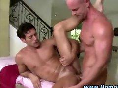 Gay straight guy seduction blowjob ass fuck