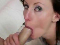 Classy mature brit slut blowjob fuck