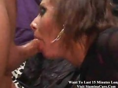 Goth Babe getting it in all holes