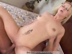 Aaralyn gets cum in her face