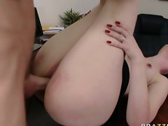 Mom s Boss is a Hot Slut, Facial,Office
