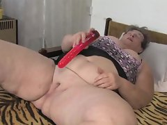 granny with toy