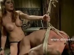 Pervert mistress with large breasts