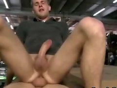 Public gays cums after jerking off