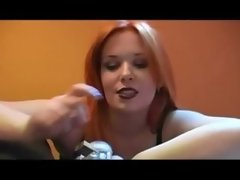 Femdom Smoking Over A Cock In Chastity