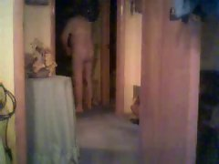 Mummy and daddy caught by hidden cam