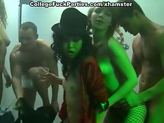 Nude dancing and crazy orgy