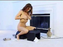 (Hot Girls at ZawZa.com)  Sybian Fucking Machine