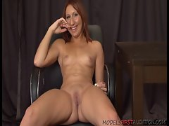 ModelsFirstAudition babe Cara Hard gives a great casting