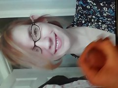 Facial tribute on a MILF&,#039,s face